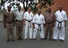 The Seminar of Karate was held in the prison in Durban City