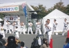 I.K.O.MATSUSHIMA Japan Honbu Matsushima Dojo students performed a Karate demonstration at the Showa Village Festival in Numata on October 2,2011