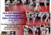 First IKO Matsushima British Open Karate Championships will be held on 23rd June 2013