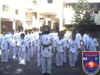 I.K.O. Matsushima female Dojo open in D.H.A Karachi Pakistan.