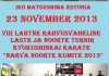 I.K.O. MATSUSHIMA Estonia children Tournament was held  on 23rd,Nov 2013 in Narva