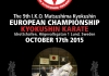 The 9th I.K.O.MATSUSHIMA European Championships will be held on 17th October 2015 in Lund ,Sweden.