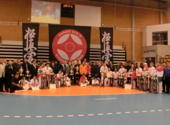 The 9th I.K.O.Matsushima European Kyokushin Karate Championship was held in Lund,Sweden on 17th October 2015.