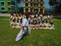 Kyu test was held in Kolkata, India on 13th March 2016