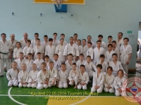 Kyu test was held in Tyumen Russia on 22nd May 2016