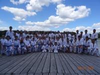 Ukrainian Kyokushinkaikan Karate Federation has held traditional summer training camp