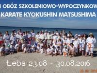 XI Summer Camp IKO Matsushima Poland was held 23-30.08.2016 in Łeba at the Baltic Sea.