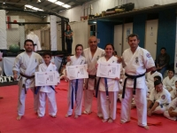 The belts and certificates ceremony was held in Chile on October 8th 2016