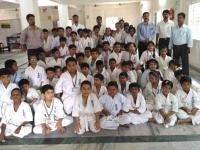 I.K.O. Matsushima KYU Gradation Test was held in Kolkata- India