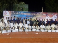The 17th south Indian open Kyokushin Karate tournament was held in Tamilnadu on 2nd October 2016
