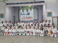 Black Belts and Certificate Awarding was held in Myanmar on 14th October 2016