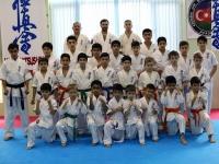 Kyu and Dan test was held in Azerbaijan on 30th October 2016