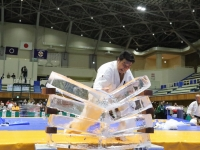The demonstrations were performed in between the fighting matches of the 5th World Tournament.