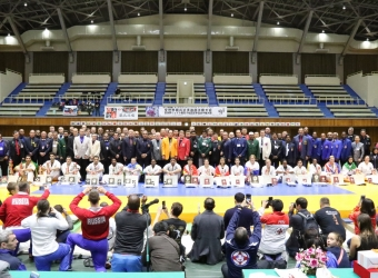 The 5th I.K.O.MATSUSHIMA World Open Kyokushin Karate Tournament was held on 26,27th November at Maebashi,Gumma Japan