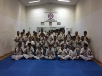KYU GRADING TESTS AT KARATE MATSUSHIMA CHILE