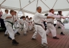 """""""On the 4th of February, Karate Syd of the Swedish I.K.O. Matsushima branch conducted a public demonstration in downtown Lund to display the power of Sosai Oyama's karate."""