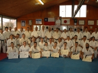 Belt Ceremony was held in Chile on 1st April 2017