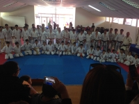 FIRST KYU TEST 2017 IN  IKO MATSUSHIMA NORTHERN AREA  WAS HELD ON JUNE 04 AT LOCAL UNIVERSITY IN IQUIQUE- CHILE