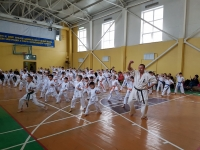 Kyu test &Tournament was held in Kazakustan