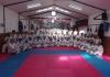 In the Dojo of IKO MATSUSHIMA CONCEPCION,CHILE, was carried out the examination of grade of 60 students