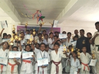 I.K.O. MATSUSHIMA INTRA SCHOOL KYOKUSHIN KARATE CHAMPIONSHIP 2017 was held in India