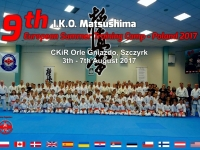 9th I.K.O. MATSUSHIMA European Summer Training Camp was held in  Szczyrk ,Poland
