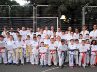 Kyu and Dan test was held in Israel