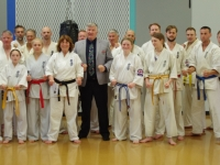 Dan grading was held in Australia