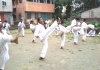Belt Gradation (KYU) Test was held in India