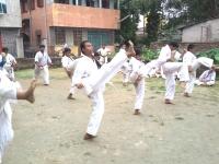 Belt Gradation (KYU) Test was held in India
