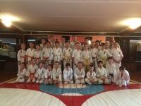 Kyu test was held in Blagoveschenske Russia on 25th November 25