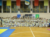 Ukrainian Open Kyokushinkaikan Karate Cup among children and juniors was held in Brovary on December 10, 2017.