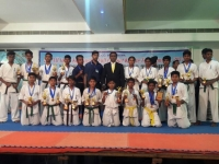 28th All India full contact karate tournament &won prizes and awards was held in Tamilnadu India on 30th~31st December 2017