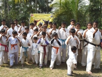 The Tournament and Kyu test was held in West Bengal India on 2018
