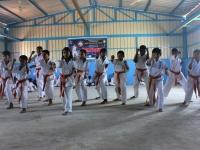 I.K.O.Matsushima International Karate Organization KI Dojo Karnataka India 4th Belt Gradation and Belt Ceremony