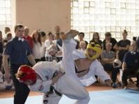 Zakarpattya region IKO Matsushima kyokushinkaikan karate championship was held in picturesque Ukrainian town Mukachevo on April 14th, 2018.