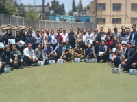 The meeting was held with the presence of about 60 persons of both male and female athletes, champions, referee & judges, coaches and pioneers from different parts of Fars province in Shiraz,Iran on Friday, May 18.