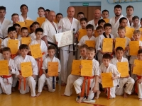 Kyu test was held in Russia on 12th May 2018