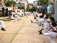 I.K.O. Matsushima Kyokushin Karate Summer Camp – May 2018 was held in West Bengal India on 23rd May to 27th May 2018