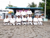 Dan grading was held in India