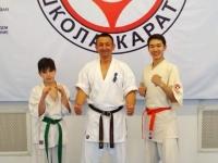 Kyu test was held in Kazakhstan on 27th May 2018