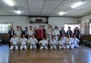 The grading test was held at Matsushima Dojo,in Gumma,Japan.