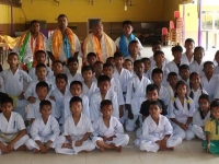 """The celebration """"Happy Teacher's day"""" was held in Nepal"""