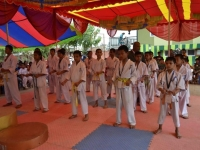 1st Matsushima Cup Kyokushin Karate junior championship held in Nepal on  22nd September  2018