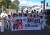 I.K.O.MATSUSHIMA Japan Honbu Matsushima Dojo studens performed a Karate demonstration at the Showa Village Festival in Numata on 7th October 2018