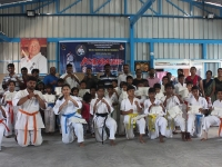 Conducted 6th Belt Gradation Kyu Test and Belt Ceremony for Karnataka, India Kyokushin Karate Students on 7th October, 2018.