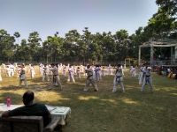 Belt Gradation test and Belt ceremony was held in West Bengal  India, on 18 th November 2018.