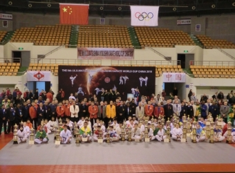 5th I.K.O.MATSUSHIMA KYOKUSHIN KARATE WORLD CUP CHINA 2018 was held on 18th Nov.2018