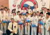 """Team of Nutrikhin's Dojo (IKO Matsushima) successfully performed at the Martial Arts Festival in Komsomolsk-on-Amur (Russia) at December,23."