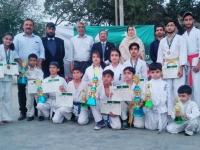 22nd National IKO-Matsushima Kyokushin Karate Championships was held in Pakistan on 23,24 March 2019